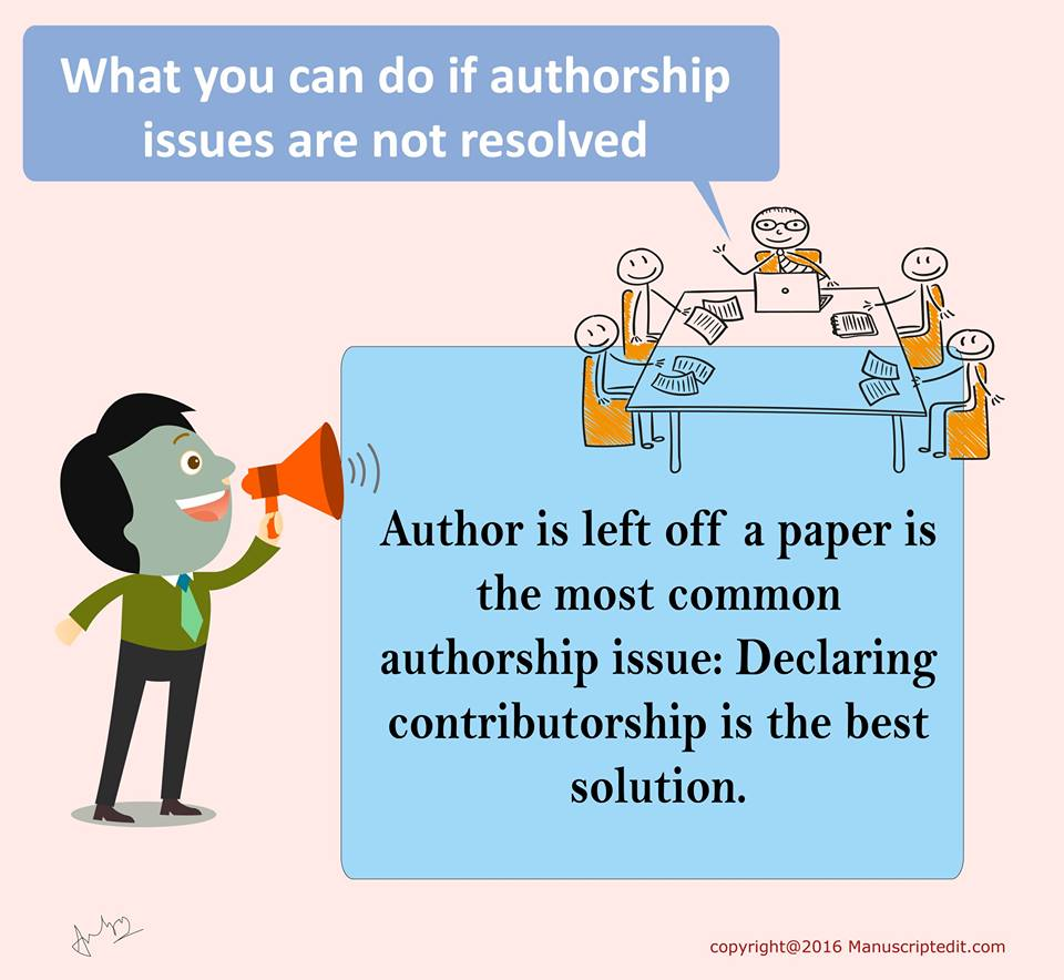 What You Can Do If Authorship Issues Are Not Resolved