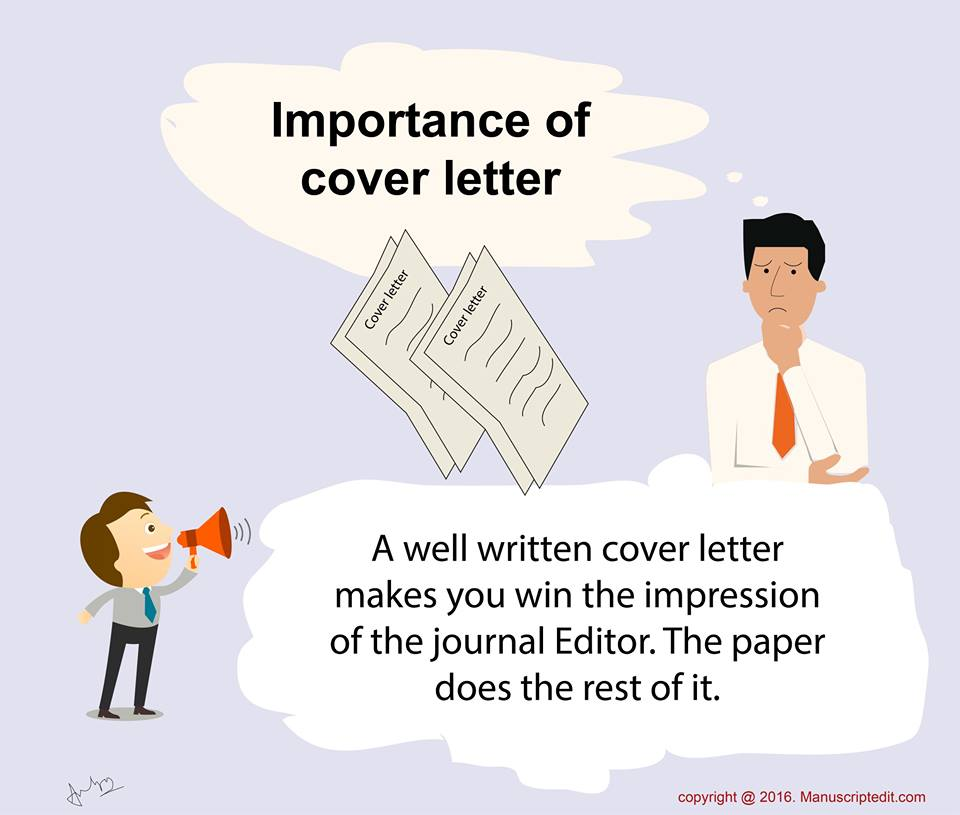 Importance of cover letter   Pubmanu   Publication Manual
