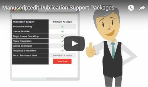 Manuscriptedit Publication Support Packages