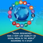 """Indian researches have a very low visibility on social media in the world"" according to a study"