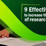 9 Effective ways to increase the citations of research papers