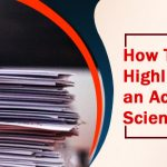How To Write Highlights for an Academic or Scientific paper
